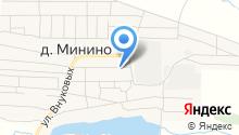Мининская начальная общеобразовательная школа на карте