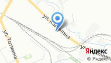 2В на карте