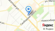 Abakus центр на карте