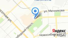 SheriDance на карте