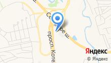 Науменко В.А. на карте