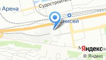 Красноярская межрайонная больница №3 на карте
