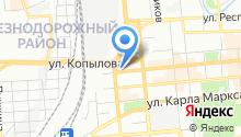 Отдел социальной политики Администрации Железнодорожного района в г. Красноярске на карте