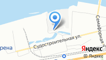 *пароход* на карте