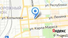 Мировые судьи Центрального района на карте