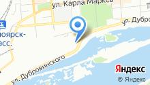 AuTaxi на карте