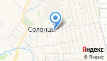 Луговой, продуктовый магазин на карте