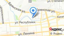 Русич на карте