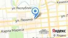 Салон-магазин верхней одежды на карте