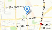 Dream тур на карте