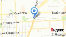 7 миля на карте