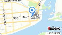Красноярский следственный отдел на транспорте Западно-Сибирского следственного Управления на транспорте Следственного комитета РФ на карте