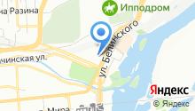 AS Hostel на карте