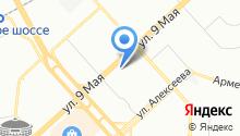 КРАСМЕБЕЛЬ на карте