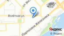 дарья-рио на карте
