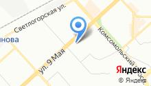 *кан* на карте