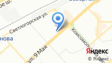 ИКЕА на карте