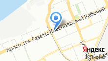 1 комиссионный меховой центр на карте