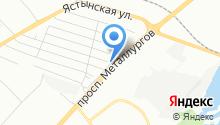 CustomRodsService на карте