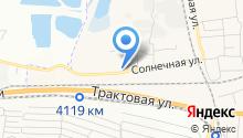 Березовский на карте