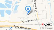Автостоянка на ул. Сурикова на карте