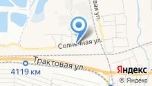 Берёзовский детский сад №2 на карте