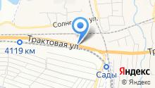 Танер на карте
