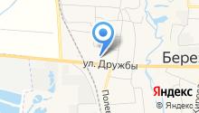 Березовская средняя общеобразовательная школа №3 на карте