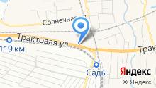 АвтоТрансСиб на карте