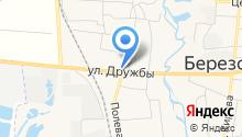 Следственный отдел по Берёзовскому району Главного следственного Управления Следственного комитета РФ по Красноярскому краю на карте