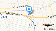 Шиномонтажная мастерская на Трактовой на карте