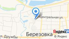 Берёзовское районное потребительское общество на карте