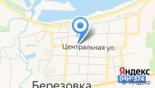 Управление пенсионного фонда в Березовском районе на карте