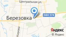 Магазин морепродуктов на ул. Дружбы на карте