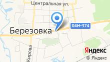 Продуктовый магазин на ул. Дружбы на карте