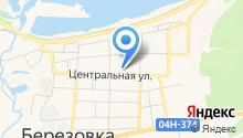 Березовская мебельная фабрика на карте