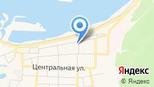 Магазин пива и рыбы на Береговой на карте