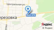 Прокуратура Березовского района на карте