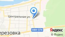 Центр занятости населения Березовского района на карте