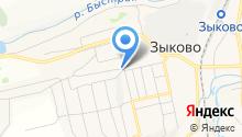 Теремок, магазин продовольственных товаров на карте