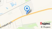 Док-Енисей на карте