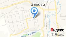 Парикмахерская на Клубной на карте