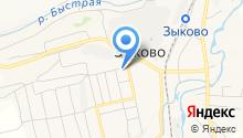 Кедр, магазин продуктов на карте