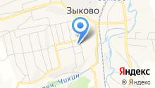 Радуга, продовольственный магазин на карте
