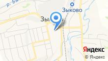 Зыковская средняя общеобразовательная школа на карте
