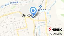 АЗС Сибойл на карте