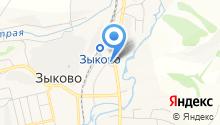 Администрация с. Зыково на карте