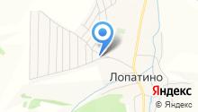 Славянка, ДНТ на карте