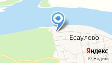 Есаульский детский сад на карте
