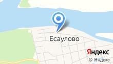 Есауловский детский дом на карте
